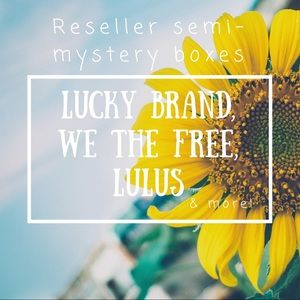 Other - Reseller semi-mystery box! • 9 items
